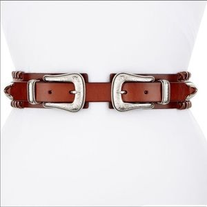 Rebecca Minkoff doble bucle belt
